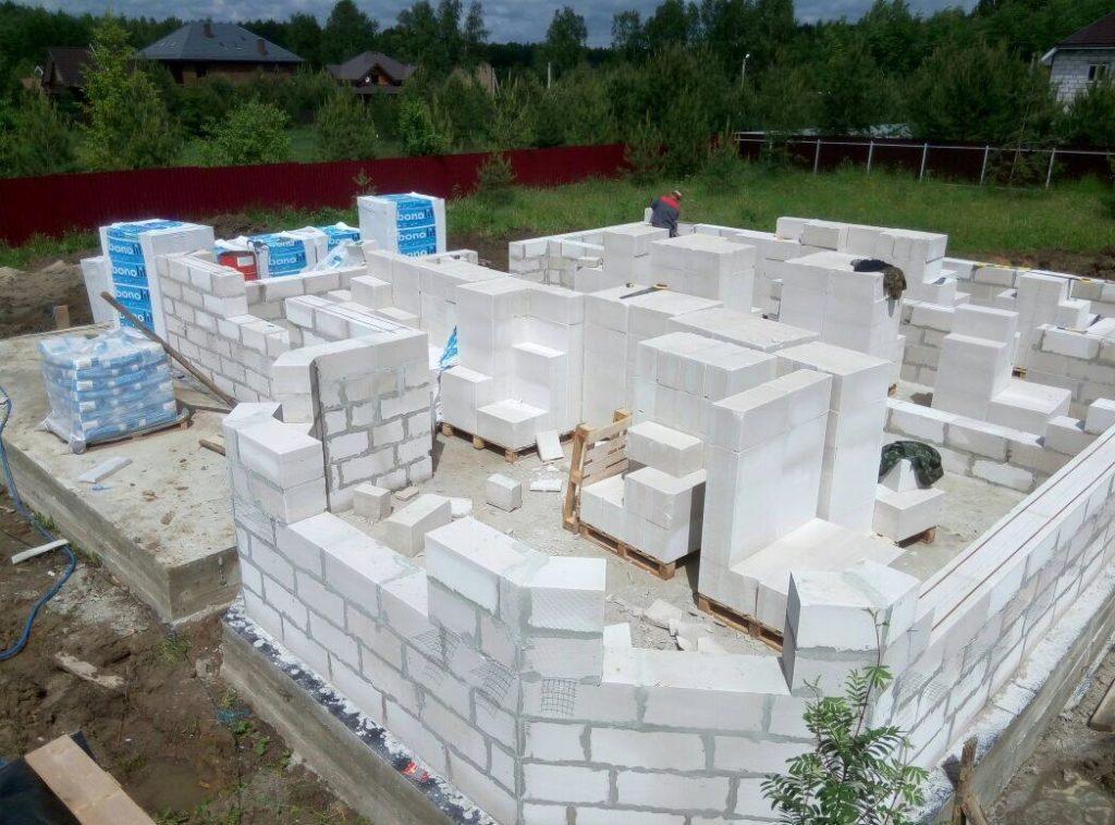 Как строятся конструкции и сооружения из газобетонных блоков. Правила, нормы и требования