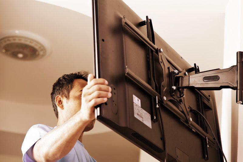 Как повесить телевизор или навесную мебель на газобетон. Правила, крепежные элементы, полезные советы.