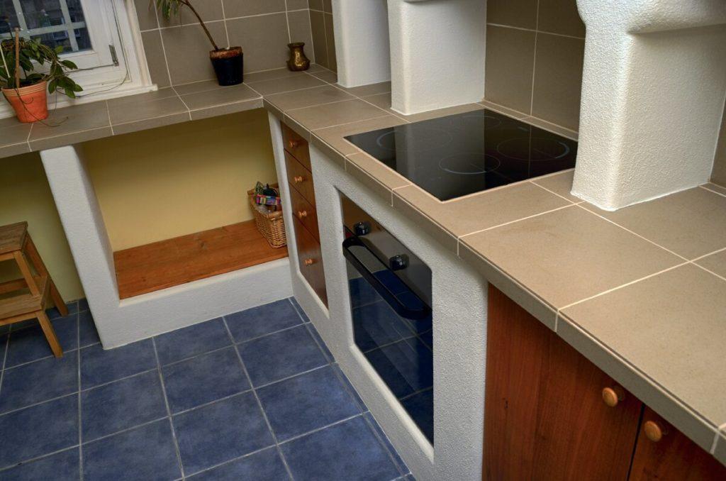 Кухня из газобетона: особенности, преимущества, варианты конструкции