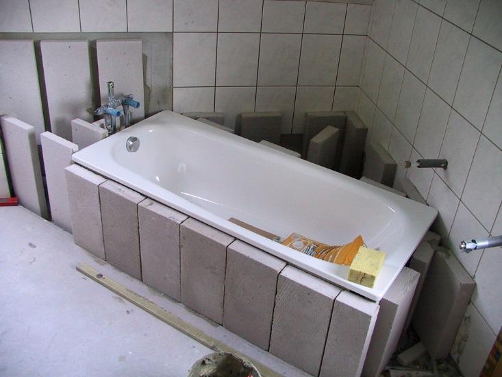 Ванная в доме из газобетона: особенности, способы отделки, полезные советы