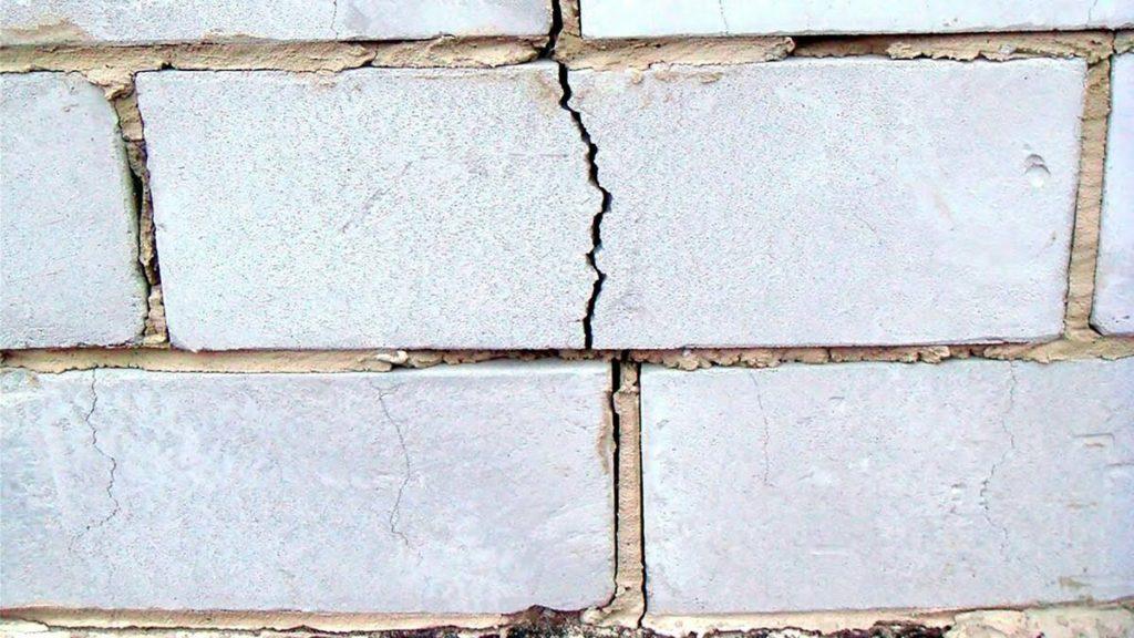 Усадка газобетона: причины, особенности, длительность процесса