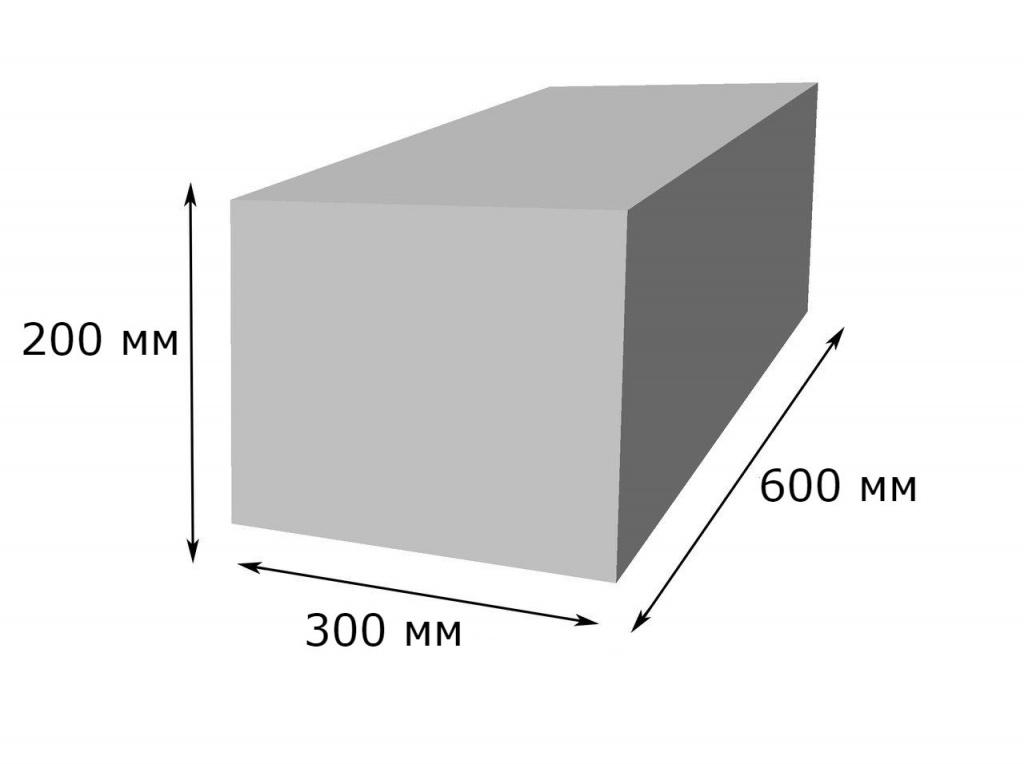 Газобетонный блок 600х300х200: цена, специфика и область применения материала